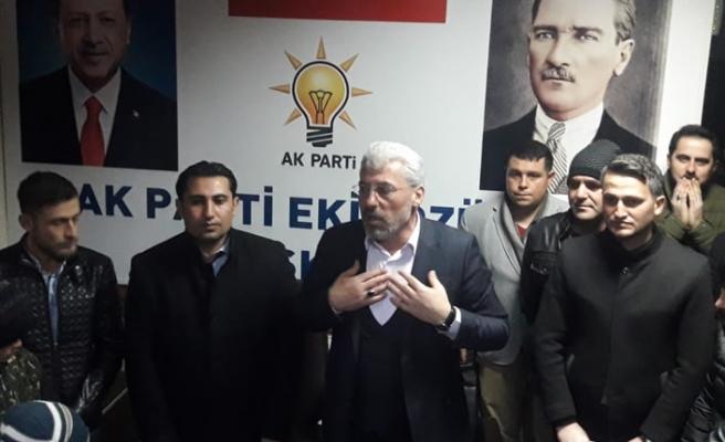 Başkan adayı Eker Ekinözü'nü gençlerle birlikte yönetecek!