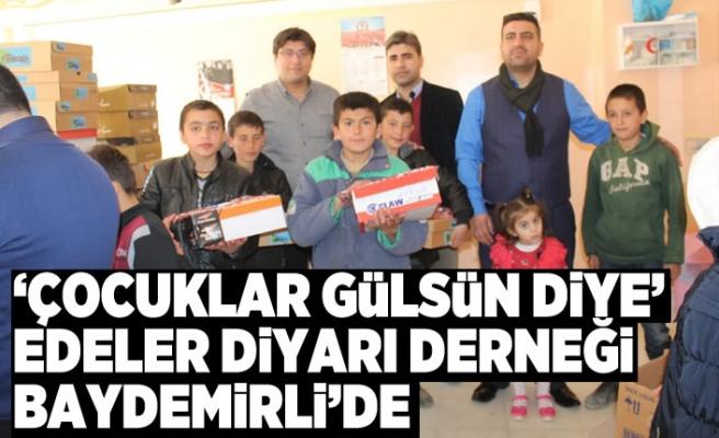 'ÇOCUKLAR GÜLSÜN DİYE' Edeler Diyarı Derneği Baydemirli'deydi!