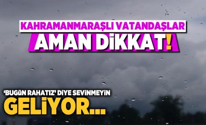 Kahramanmaraş'ta pazar günü hava nasıl olacak? (24 Şubat Pazar 2019)