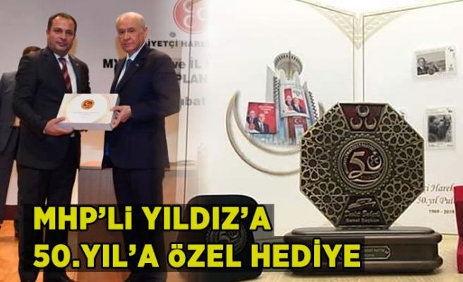 MHP'Lİ YILDIZ'A 50.YIL'A ÖZEL HEDİYE...