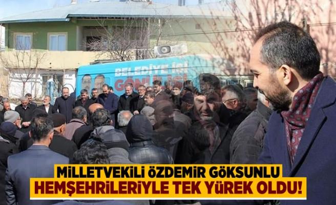 AK Parti Milletvekili Özdemir Göksunlu hemşehrileriyle bir araya geldi!