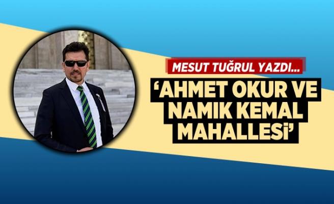 Mesut Tuğrul yazdı... 'Ahmet Okur ve Namık Kemal mahallesi'