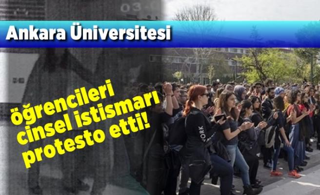 Ankara Üniversitesi öğrencileri Cinsel istismarı protesto etti!