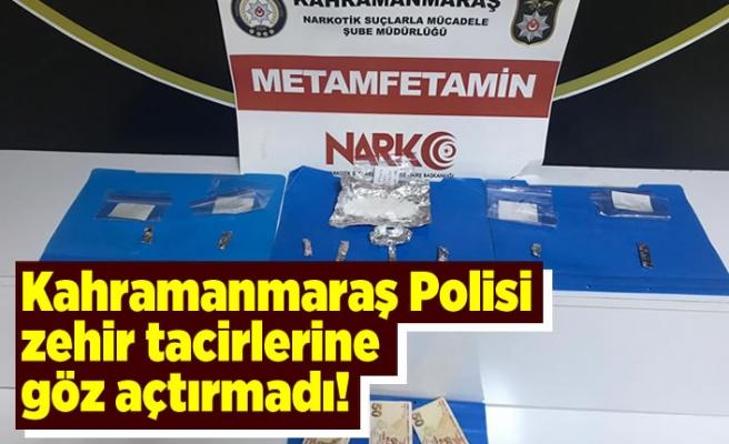 Kahramanmaraş Polisi zehir tacirlerine göz açtırmadı!