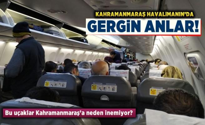 Bu uçaklar Kahramanmaraş'a neden inemiyor?