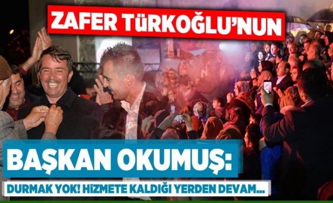 Zafer Türkoğlu'nun! 'Durmak yok! Hizmete kaldığı yerden devam...'