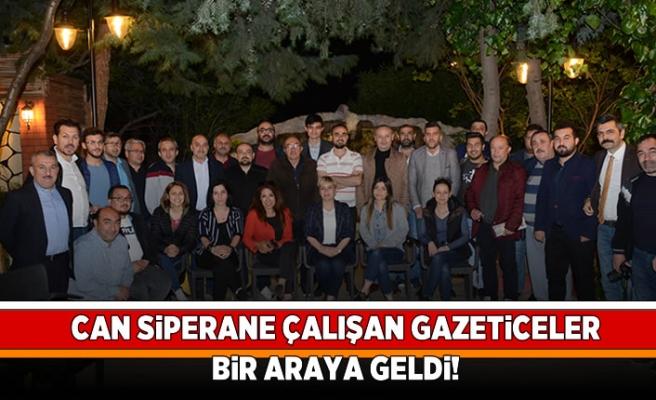 Can siperhane çalışan gazeteciler bir araya geldi!