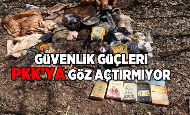 Güvenlik güçleri PKK'ya gözaçtırmıyor