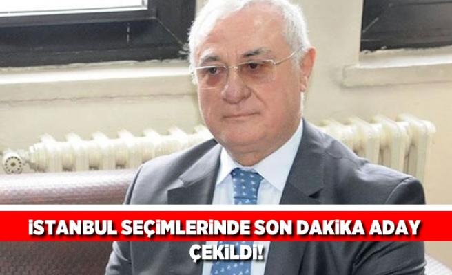 Son dakika! İstanbul seçimlerinde son dakika aday çekildi!