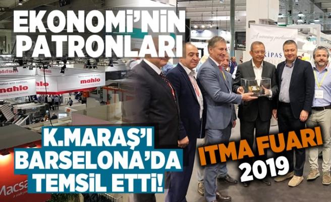 Ekonomi'nin Patronları Kahramanmaraş'ı Barselona'da temsil etti!