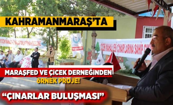 Kahramanmaraş'ta Maraşfed ve Çiçek derneğinden örnek proje!