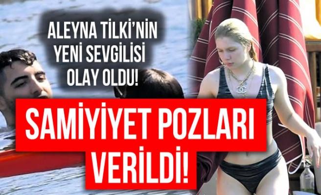 Aleyna Tilki sevgilisiyle beraber yakalandı!