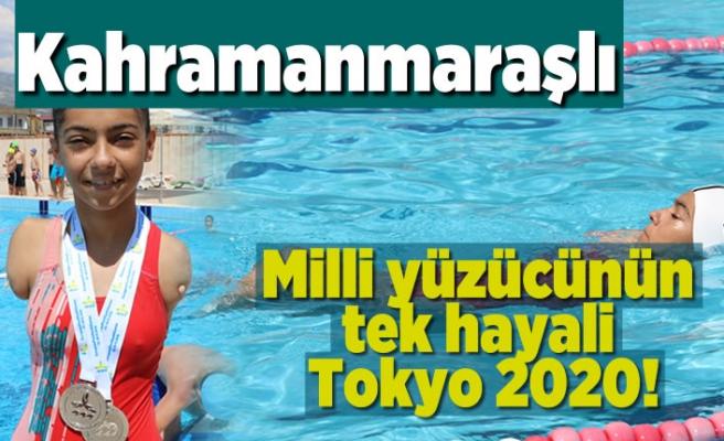 Kahramanmaraşlı yüzücünün tek hayali Tokyo2020!