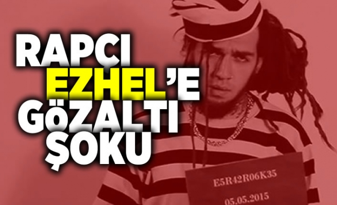 Rapçı Ezhel'e gözaltı şoku!