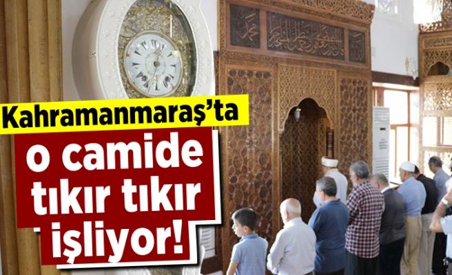 Kahramanmaraş'ta o camide tıkır tıkır işliyor!