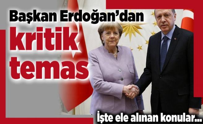 Başkan Erdoğan'dan kritik temas! İşte ele alınan konular...