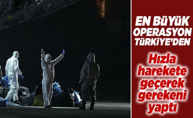 En büyük operasyon Türkiye'den! Hızla hareket geçerek gerekeni yaptı!