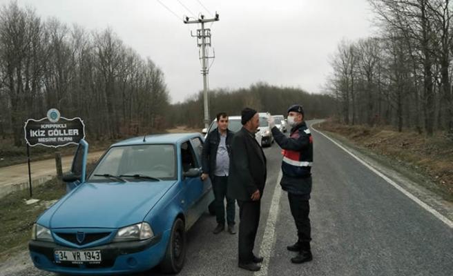 Korona virüs tedbirlerine uymayan 4 kişiye para cezası