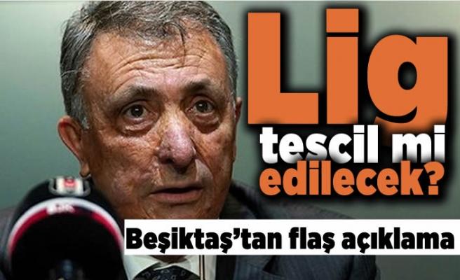 Lig tescil mi edilecek? Beşiktaş'tan flaş açıklama!