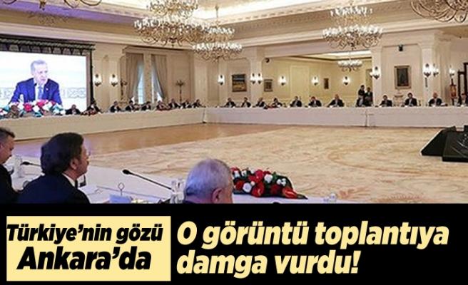 Türkiye'nin gözü Ankara'da! O görüntü toplantıya damga vurdu!