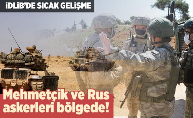 İdlib'de sıcak gelişme! Mehmetçik ve Rus askerleri bölgede!
