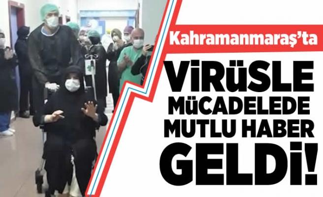 Kahramanmaraş'ta virüsle mücadelede mutlu haber geldi!