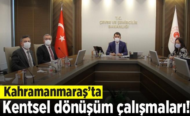 Kahramanmaraş'ta kentsel dönüşüm çalışmaları!