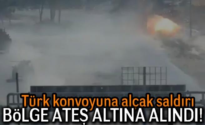 Türk konvoyuna alçak saldırı! Böle ateş altına alındı!