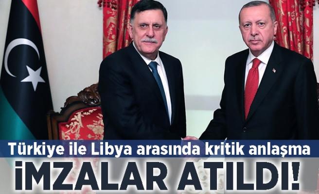 Türkiye ile Libya arasında kritik anlaşma! İmzalar atıldı!