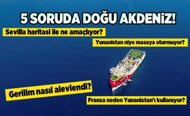 5 Soruda Doğu Akdeniz!