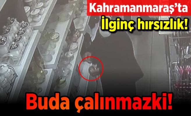 Kahramanmaraş'ta ilginç hırsızlık! Buda çalınmazki!