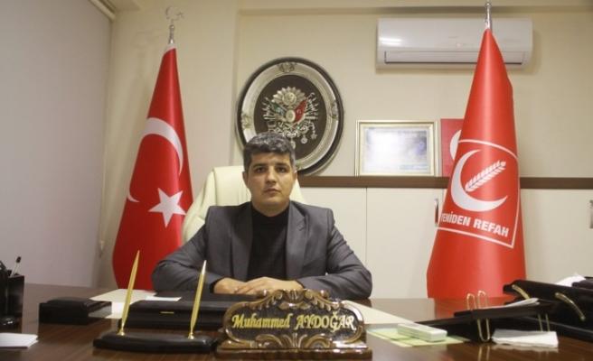 Yeniden Refah Partisi Onikişubat İlçe Başkanı Muhammed Aydoğar soruyor!