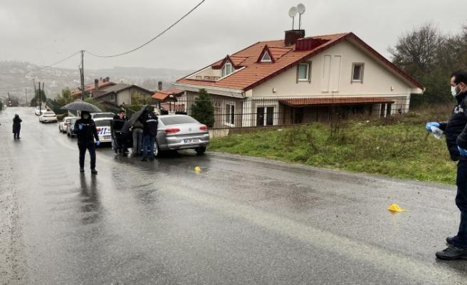 Sarıyer'de iş adamına silahlı saldırı