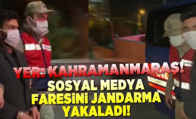 Sosyal medya faresi Kahramanmaraş'ta yakalandı!