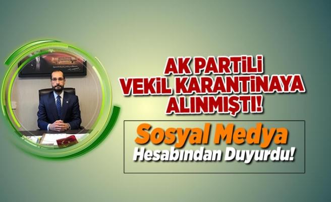 AK Partili Vekilden yeni açıklama!
