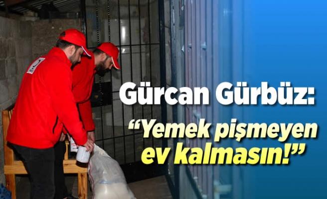 Kızılay Dulkadiroğlu Başkanlığı Gıda ve et yardımında bulundu!