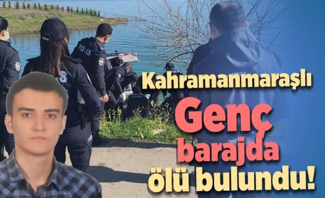 Kahramanmaraşlı Genç barajda ölü bulundu!