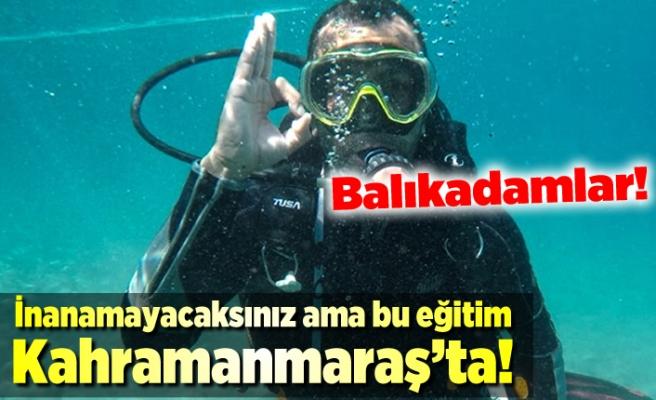 Kahramanmaraş'ta balıkladamlara eğitim!