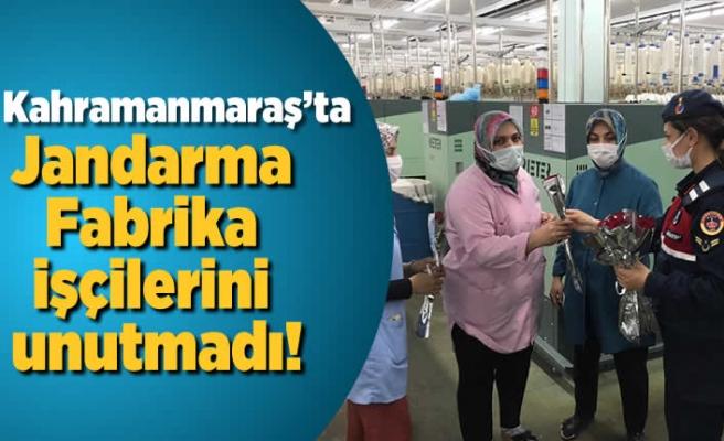Jandarmadan fabrika işçilerine ziyaret!
