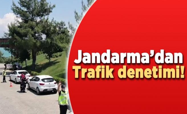 Jandarma'dan trafik denetimi!