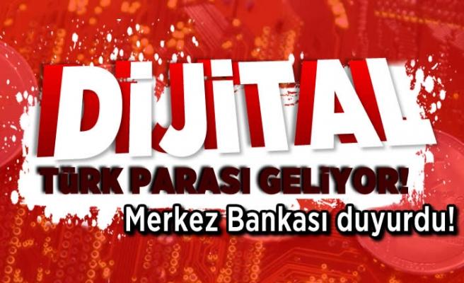 Dijital Türk parası geliyor! Merkez Bankası duyurdu!