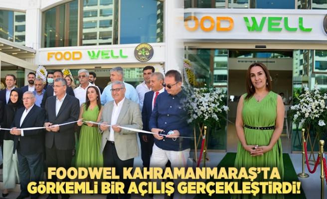 Diyet Restorant Foodwell Kahramanmaraş'ta görkemli bir açılış gerçekleştirdi!
