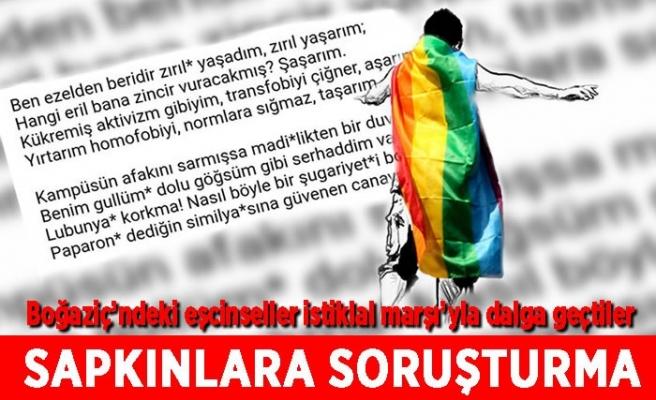 İstiklal Marşı'yla dalga geçen LGBT'liler hakkında soruşturma