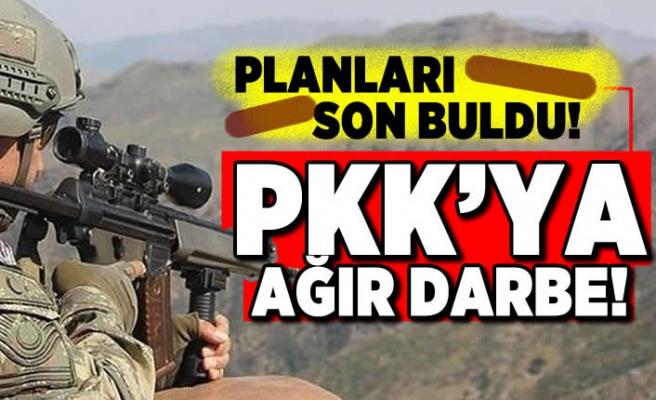 Planları son buldu! PKK'ya ağır darbe!