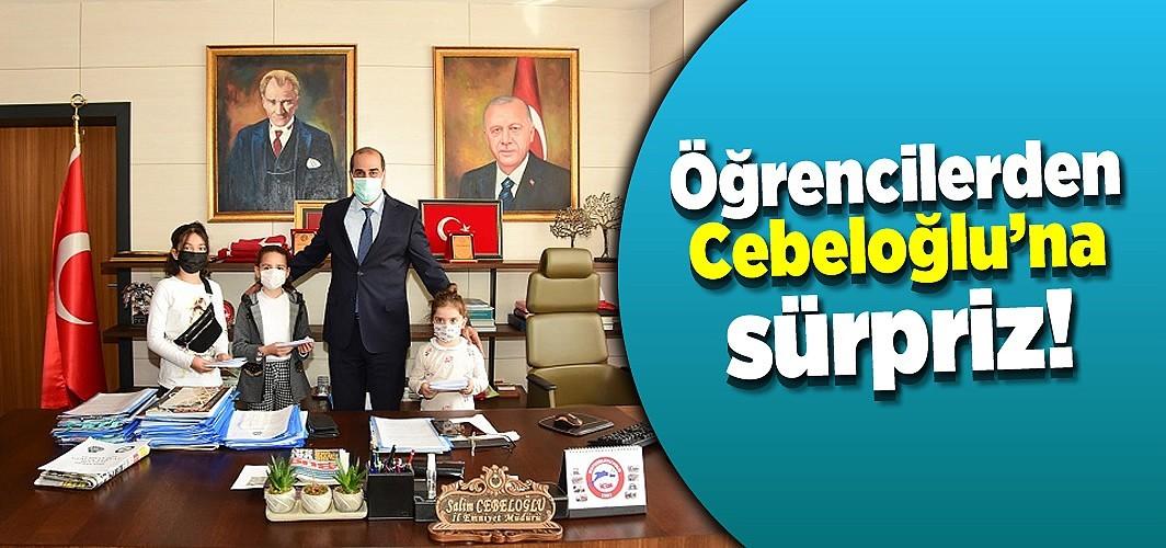 Öğrencilerden Cebeloğlu'na sürpriz!