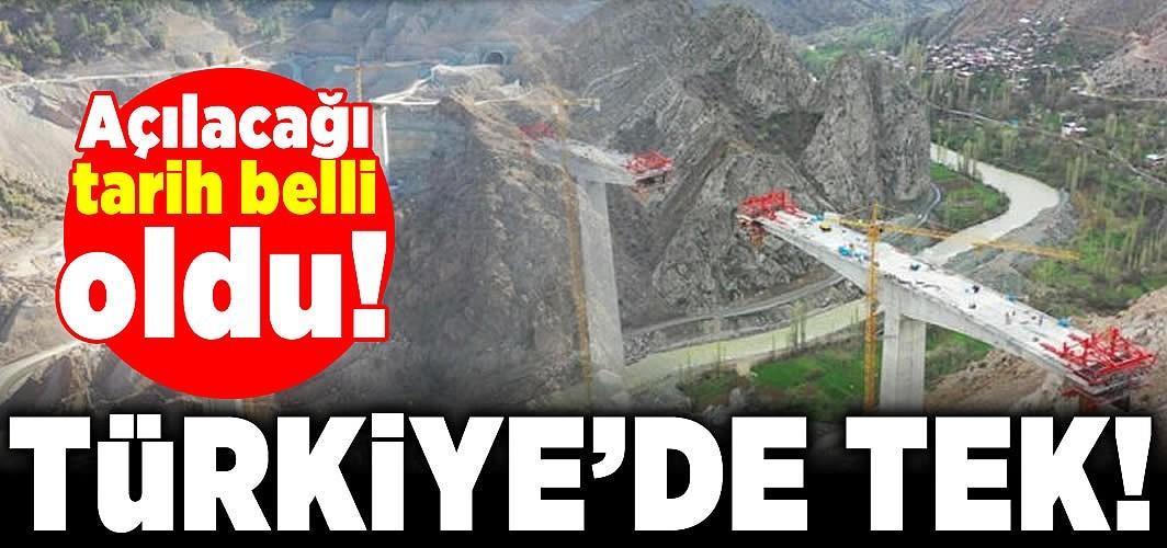 Açılacağı tarih belli oldu! Türkiye'de tek!