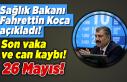 Sağlık Bakanı Fahrettin Koca açıkladı! 26 Mayıs...