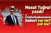Mesut Tuğrul Yazdı: ''Cumhurbaşkanımızın haberi var mı? Yok mu?