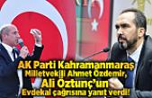 Ahmet Özdemir, Ali Öztunç'un çağrısına cevap verdi!