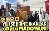 2020 yılı Şehrine inananlar ödülü MADO'nun